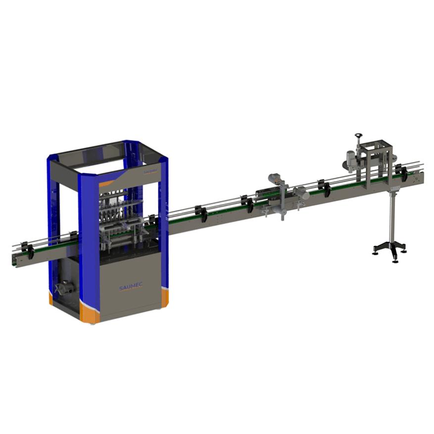 Máquina de envase para indústria alimentícia